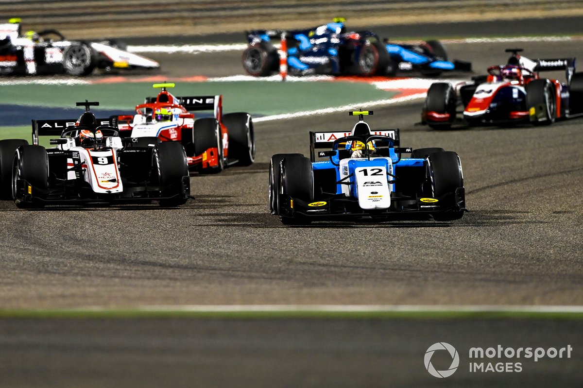 Lirim Zendeli, MP Motorsport, Christian Lundgaard, ART Grand Prix