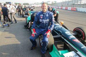 Charles Bradley mit dem IndyCar-Doppelsitzer