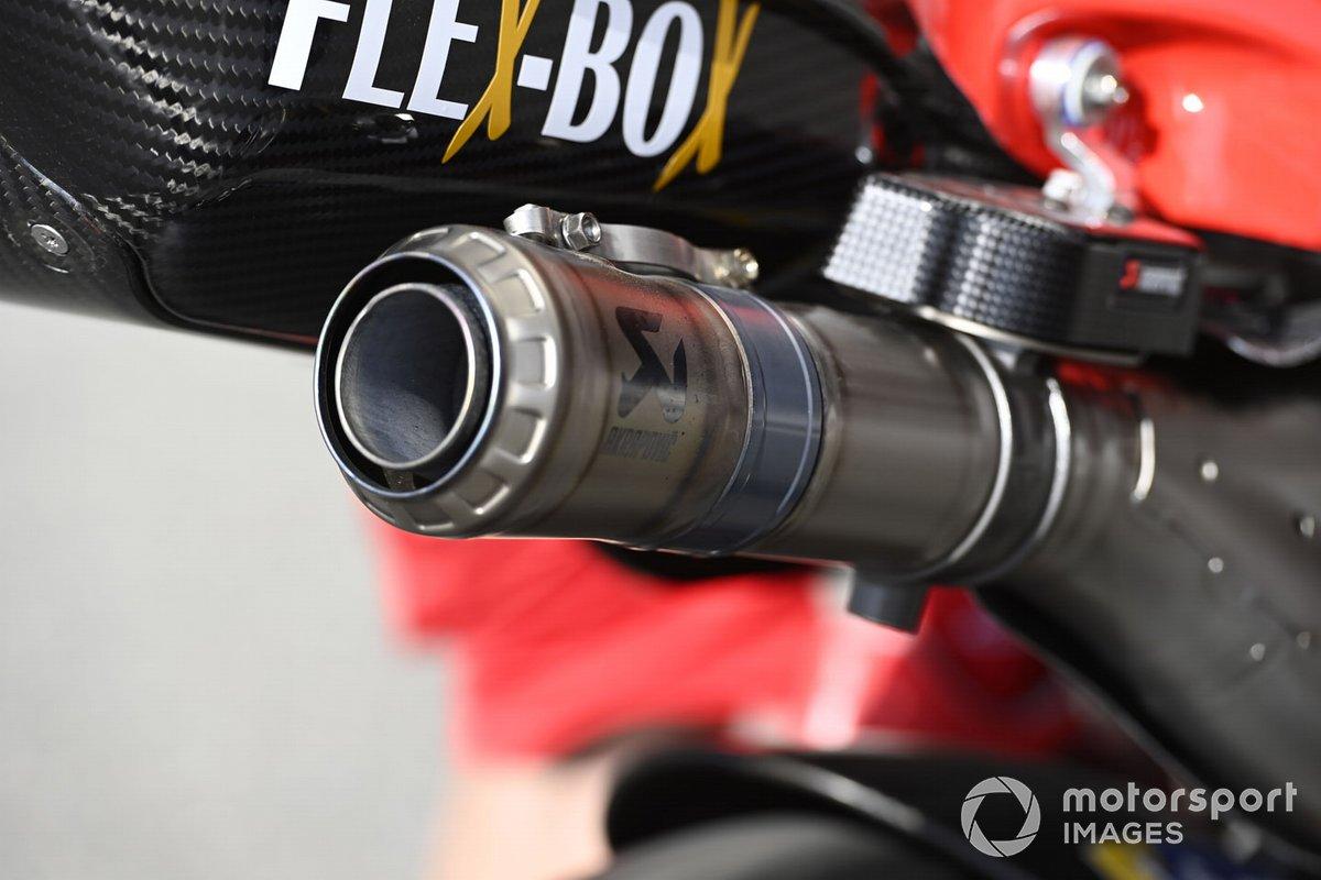 Ducati Team bike detail