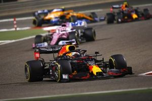 Max Verstappen, Red Bull Racing RB16, Sergio Perez, Racing Point RP20