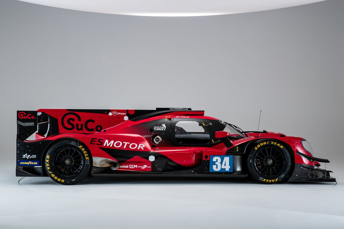 #34 Racing Team Turkey Oreca 07, Salih Yoluç, Charlie Eastwood, Harry Tincknell, 2021 renk düzeni