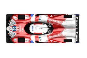 High Class Racing renk düzeni