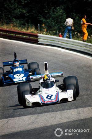 Carlos Pace, Brabham BT44B, Patrick Depailler, Tyrrell 007