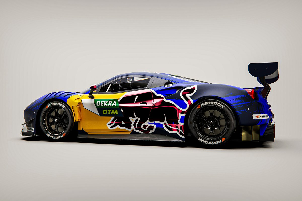 AF Corse Red Bull design per Liam Lawson