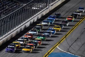 Christopher Bell, Joe Gibbs Racing, Toyota Camry DEWALT, Denny Hamlin, Joe Gibbs Racing, Toyota Camry FedEx