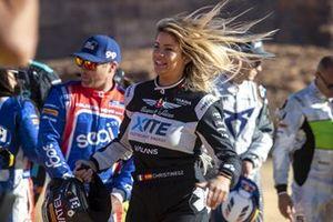 Christine Giampaoli Zonca, Hispano Suiza Xite Energy Team et Kyle Leduc, Chip Ganassi Racing