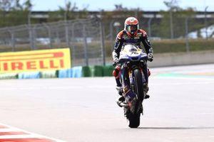 Second place Loris Baz, Ten Kate Racing Yamaha