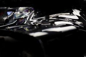 Lewis Hamilton, Mercedes-AMG F1, in his cockpit