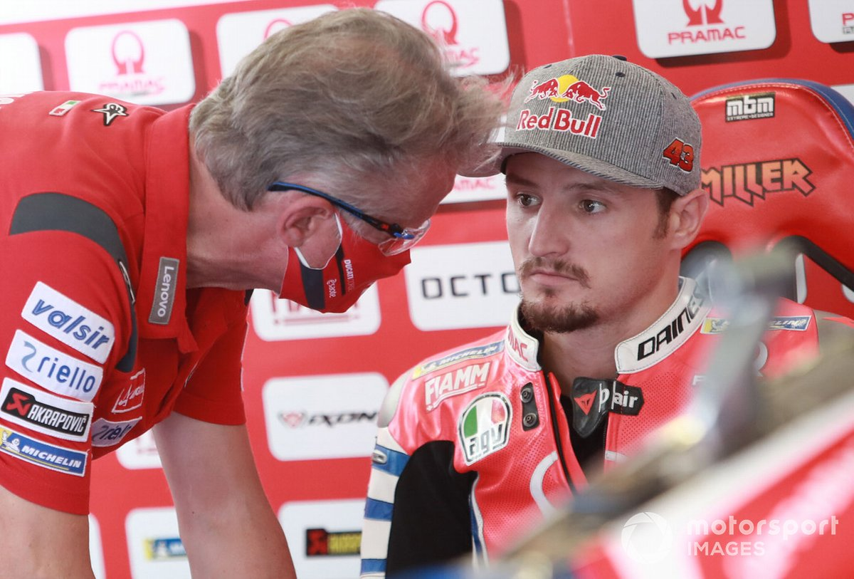 Paulo Ciabatta, Jack Miller, Pramac Racing