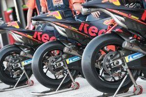 Detalle de las motos de KTM