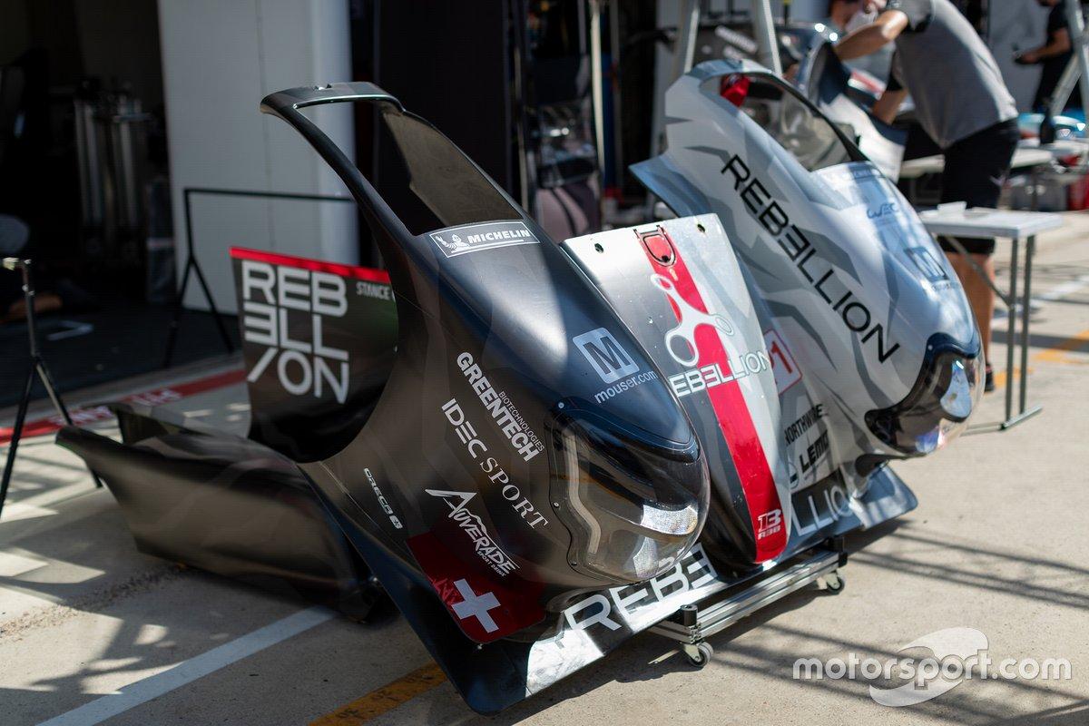 #1 Rebellion Racing - Rebellion R-13 - Gibson: Bruno Senna, Norman Nato, Gustavo Menezes