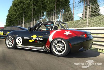 Motorsport.com eTeam Powered by MindTrick lansmanı