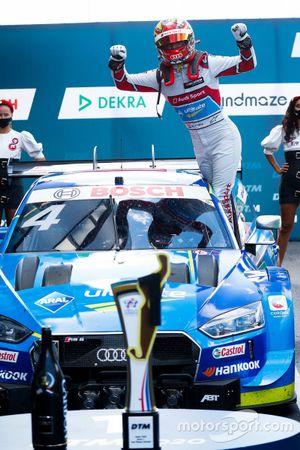Race winner Robin Frijns, Audi Sport Team Abt Sportsline