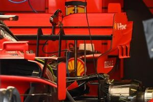 Ferrari SF1000 achtervleugel detail