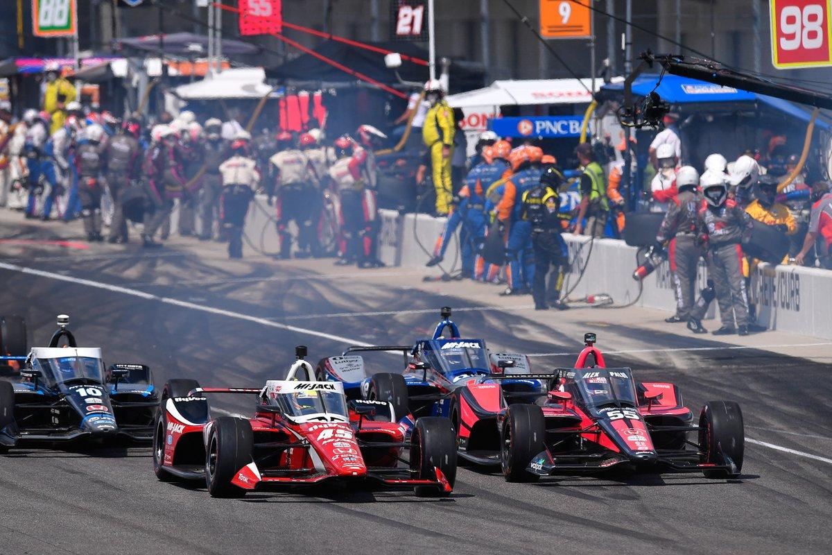 Alex Palou, Dale Coyne Racing, Team Goh Honda
