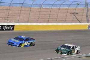 #53: Josh Bilicki, Rick Ware Racing, Ford Mustang #49: Chad Finchum, Motorsports Business Management, Toyota Camry LasVegas.net