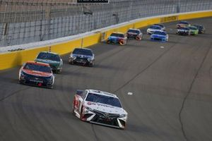#20: Erik Jones, Joe Gibbs Racing, Toyota Camry Today's The Day, #2: Brad Keselowski, Team Penske, Ford Mustang Autotrader