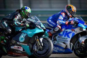 Франко Морбиделли, Petronas Yamaha SRT, Алекс Ринс, Team Suzuki MotoGP