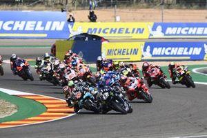 Maverick Vinales, Yamaha Factory Racing, race start