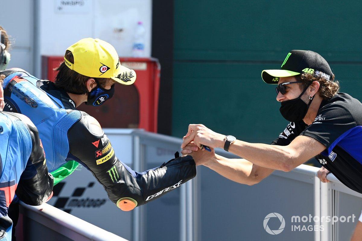 Luca Marini, Sky Racing Team VR46, Valentino Rossi