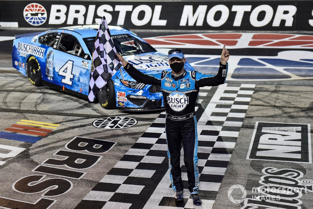 1. Kevin Harvick - 9 wins - 5th in points