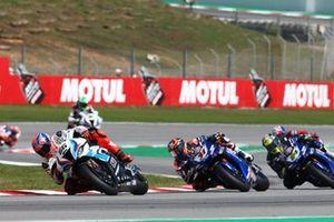 Tom Sykes, BMW Motorrad WorldSBK Team, Garrett Gerloff, GRT Yamaha