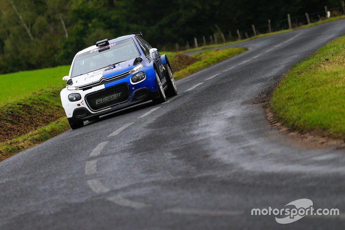 Валттери Боттас, тесты Citroen R5 команды PH Sport