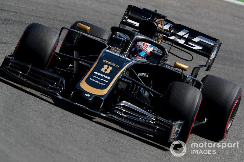 Romain Grosjean, Haas F1 Team: 7 puan
