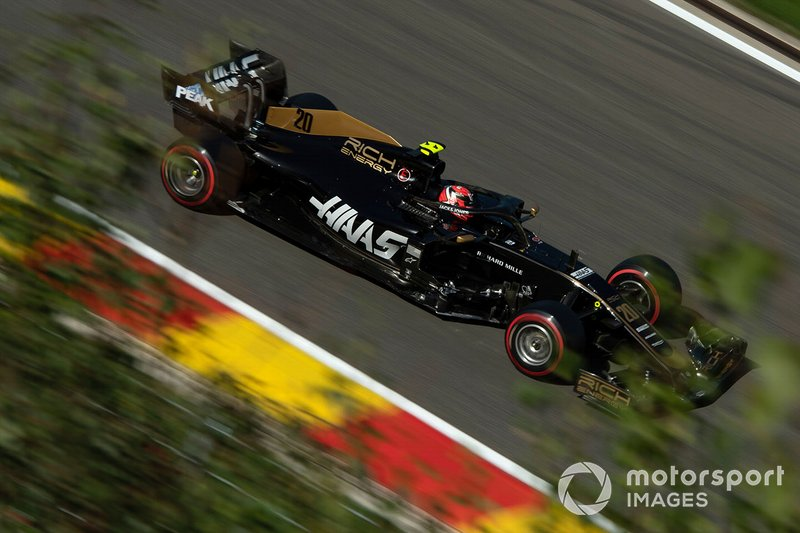8: Kevin Magnussen, Haas F1 Team VF-19, 1'45.086
