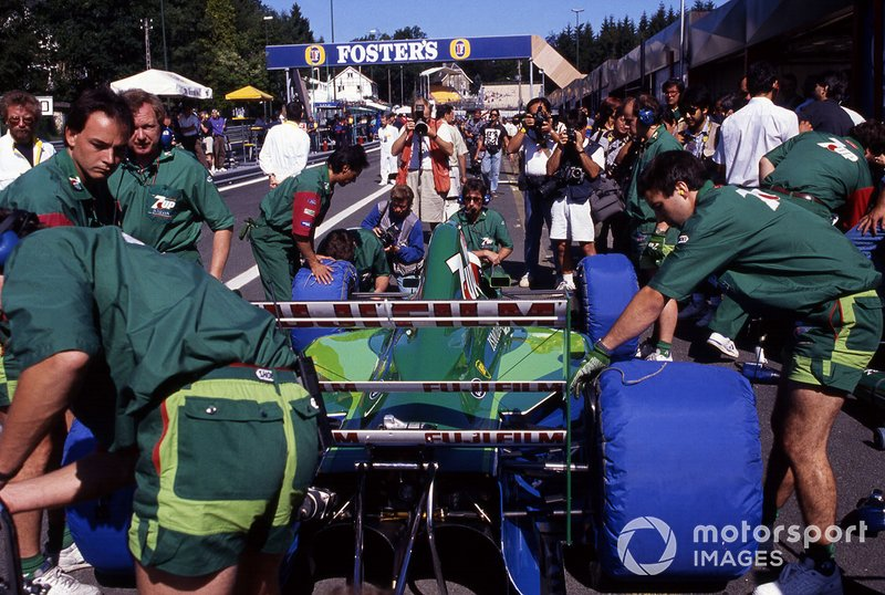 Michael Schumacher, Jordan 191 Ford