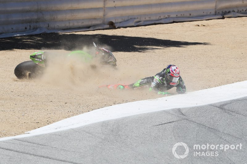 Accidente de Leon Haslam, Kawasaki Racing Team