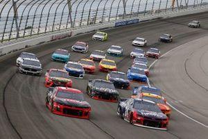 Renn-Action auf dem Chicagoland Speedway in Joliet