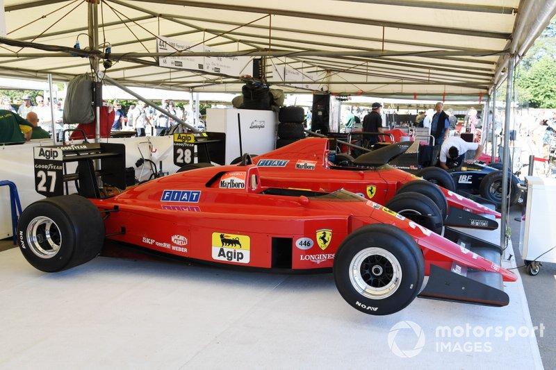 Ferrari 640 de 1989, usada pela dupla Nigel Mansell e Gerhard Berger