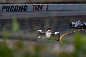 Graham Rahal, Rahal Letterman Lanigan Racing Honda, Will Power, Team Penske Chevrolet