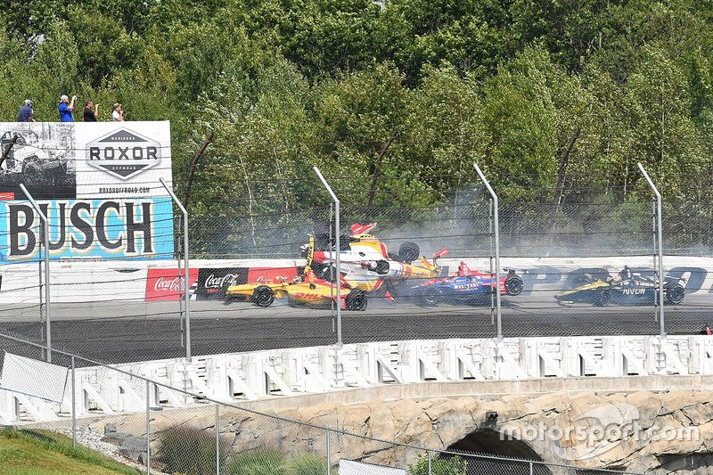 Pocono IndyCar crash