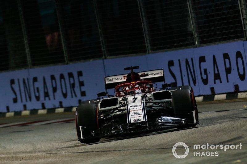 Kimi Raikkonen, Alfa Romeo Racing C38 (não terminou)