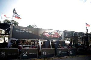 #55 Mazda Team Joest Mazda DPi: Jonathan Bomarito, Harry Tincknell, Olivier Pla, #77 Mazda Team Joest Mazda DPi: Oliver Jarvis, Tristan Nunez, Timo Bernhard