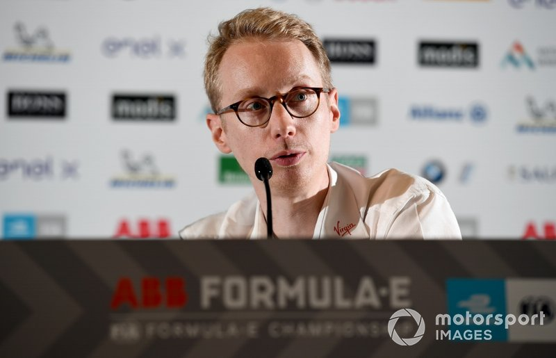 Sylvain Filippi, Managing Director, Envision Virgin Racing in the press conference
