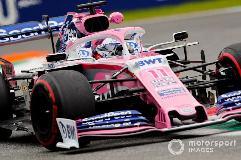 7 - Sergio Perez, Racing Point RP19