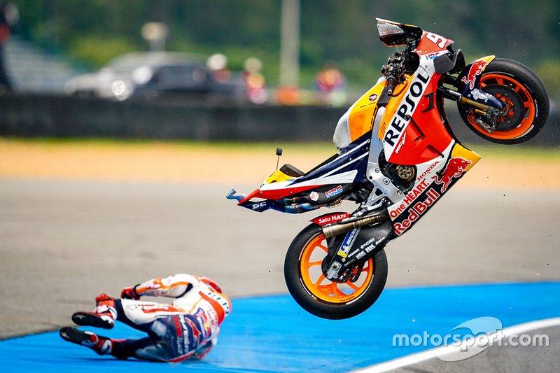 Caída de Marc Márquez, Repsol Honda Team