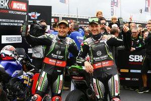 Leon Haslam, Kawasaki Racing Team, Johnathan Jonathan Rea, Kawasaki Racing Team