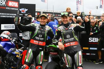 Leon Haslam, Kawasaki Racing Team, Johnathan Jonathan Rea, Kawasaki Racing Team