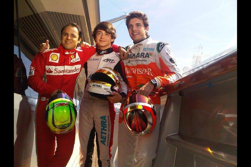 Felipe Massa, Jules Bianchi e Charles Leclerc