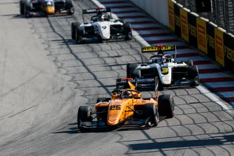 Sebastian Fernandez, Campos Racing and Christian Lundgaard, ART Grand Prix