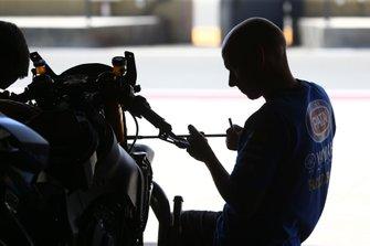 Pata Yamaha mechanic, Pete