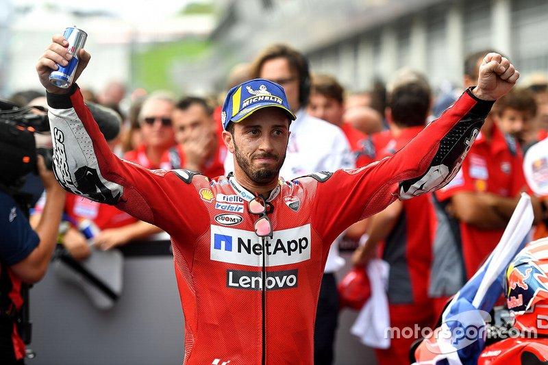 El ganador: Andrea Dovizioso, Ducati Team