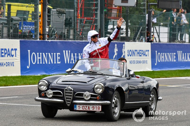 Kimi Raikkonen, Alfa Romeo Giulietta Spider