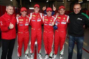 Ganadores de la pole GTE Pro: #51 AF Corse Ferrari 488 GTE Evo: James Calado, Alessandro Pier Guidi, #71 AF Corse Ferrari 488 GTE Evo: Davide Rigon, Miguel Molina