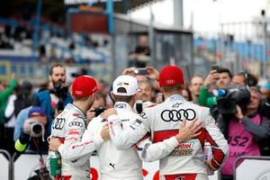 Yarış galibi Marco Wittmann, BMW Team RMG, René Rast, Audi Sport Team Rosberg, Nico Müller, Audi Sport Team Abt Sportsline