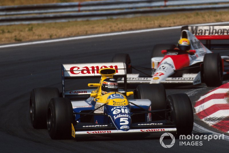 71: Thierry Boutsen, Williams
